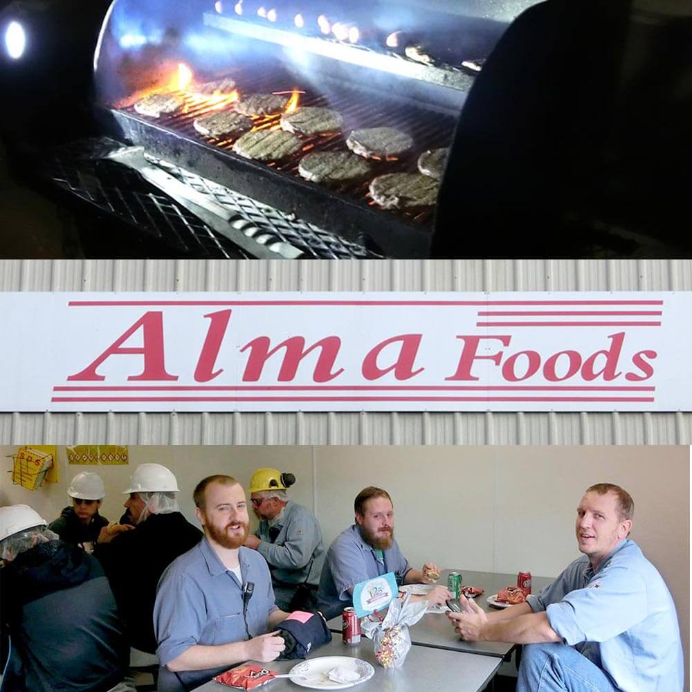 Alma Foods collage